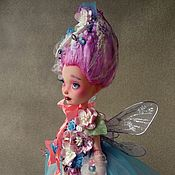 Шарнирная кукла ручной работы. Ярмарка Мастеров - ручная работа ООАК. Феечка. Авторская шарнирная кукла.. Handmade.