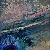 Картины и панно ручной работы. Ярмарка Мастеров - ручная работа Одна из трёх картин серии Морская жизнь. Часть 2. Handmade.