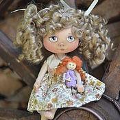 Куклы и игрушки ручной работы. Ярмарка Мастеров - ручная работа Малышка Кудряшка:). Handmade.