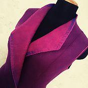 Одежда ручной работы. Ярмарка Мастеров - ручная работа Валяный жилет. Handmade.