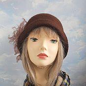 """Аксессуары handmade. Livemaster - original item Wool hat """" Iris"""". Handmade."""