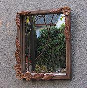 Для дома и интерьера ручной работы. Ярмарка Мастеров - ручная работа зеркало, зеркало в деревянной раме. Handmade.