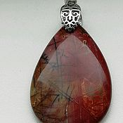 Украшения handmade. Livemaster - original item The pendant is made of natural Jasper