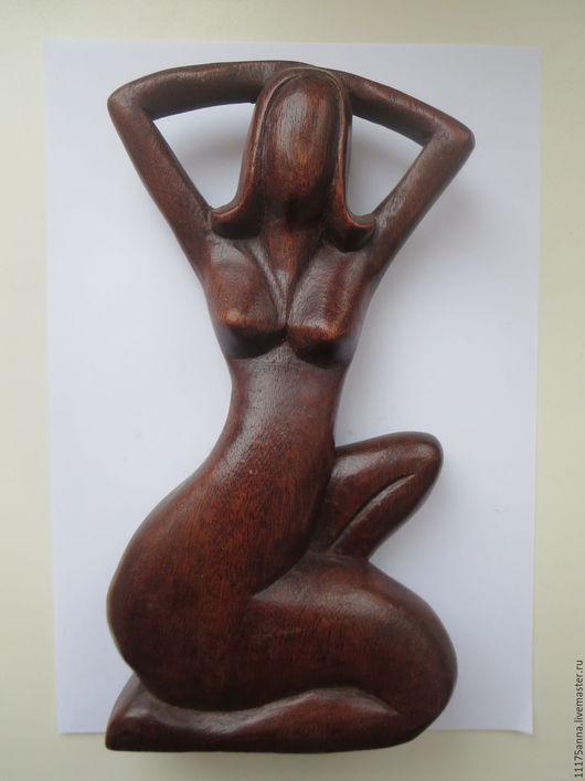 Статуэтки ручной работы. Ярмарка Мастеров - ручная работа. Купить Фигура интерьерная Девушка. Handmade. Резьба по дереву, резьба