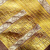 Материалы для творчества ручной работы. Ярмарка Мастеров - ручная работа Натуральный шелк с кружевом старинный. Handmade.