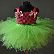 """Работы для детей, ручной работы. Ярмарка Мастеров - ручная работа Костюм """"Фея цветов"""" платье+крылья. Handmade."""