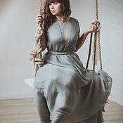Одежда ручной работы. Ярмарка Мастеров - ручная работа Вечернее платье из шифона. Handmade.