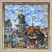 Картины и панно handmade. Livemaster - original item Mill. Panels of the mosaic. Handmade.