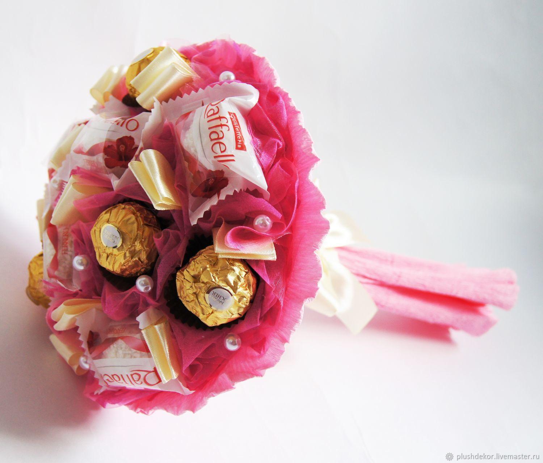 """Букет из конфет """"розовый мини2"""", Букеты, Москва, Фото №1"""