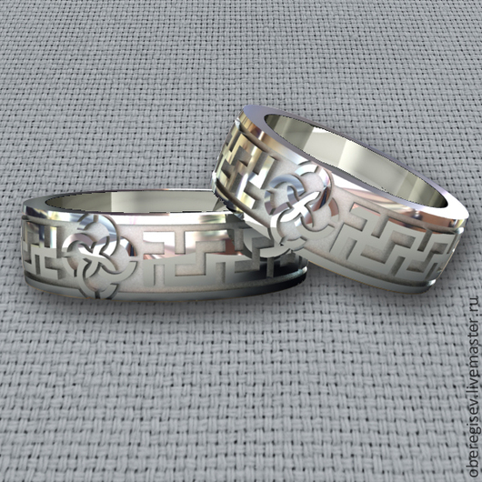 Кольцо `Свадебник` из серебра 4-6гр. 1200руб.- Под заказ (5дней).