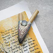 Трубка для рапэ ручной работы. Ярмарка Мастеров - ручная работа Трубка курипи для рапэ. kuripe. Handmade.
