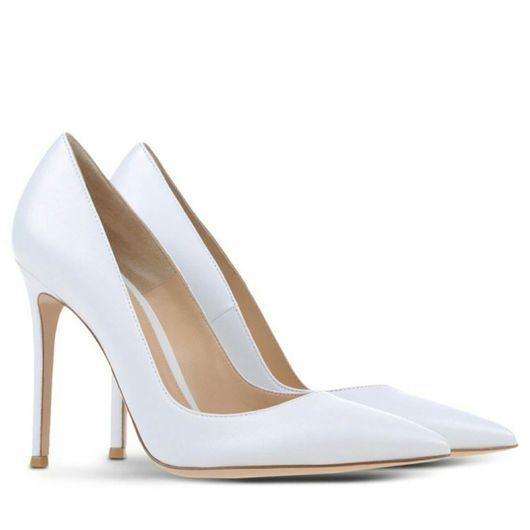 Обувь ручной работы. Ярмарка Мастеров - ручная работа. Купить Туфли женские белого цвета. Handmade. Туфли, туфли лодочки