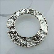 Материалы для творчества handmade. Livemaster - original item Metal pendant for jewelry 35h2 mm. Handmade.