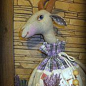 Для дома и интерьера ручной работы. Ярмарка Мастеров - ручная работа Пенелопа   пакетница. Handmade.