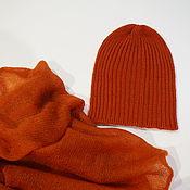 handmade. Livemaster - original item Caps: Hat knitted in the elastic out of 100% Merino. Handmade.