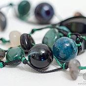 """Фен-шуй и эзотерика ручной работы. Ярмарка Мастеров - ручная работа Амулет """"Энергия и защита"""" браслет и ожерелье. Handmade."""