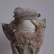 """Куклы и игрушки ручной работы. Ярмарка Мастеров - ручная работа """"Ангел первого снега"""" кукла-образ. Handmade."""