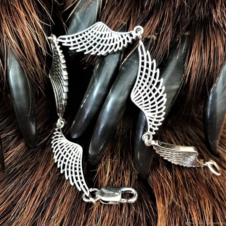 Bracelet ' Wings», Hard bracelet, Kostroma,  Фото №1