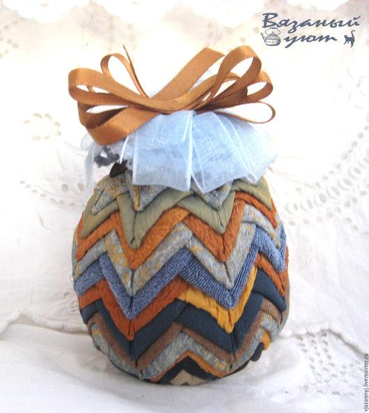 Подарки на Пасху ручной работы. Ярмарка Мастеров - ручная работа. Купить Пасхальное яйцо Голубой артишок. Handmade. Пасха