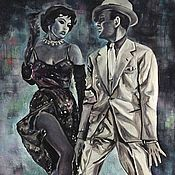 Картины и панно handmade. Livemaster - original item Picture Dancing in Chicago - dancing, cabaret, cinema, vaudeville, music hall. Handmade.