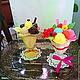 Мыло ручной работы. вкусное мыло Мороженое в креманке. дина (dinamagicsoap). Интернет-магазин Ярмарка Мастеров. Разноцветный, мороженое