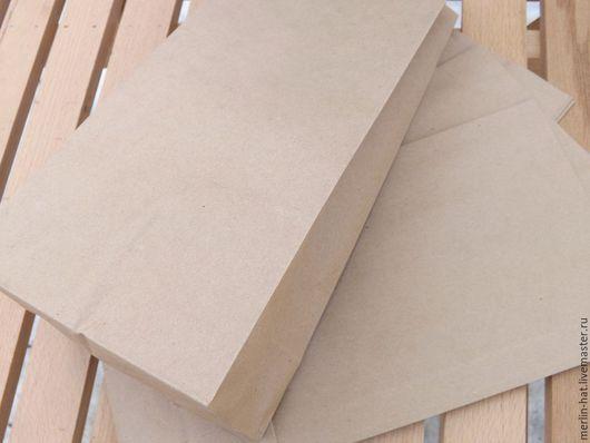 Упаковка ручной работы. Ярмарка Мастеров - ручная работа. Купить Крафт пакет  18х11х30см. Handmade. Крафт, крафт-конверт