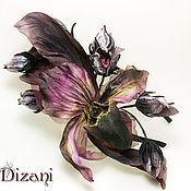 Цветы и флористика handmade. Livemaster - original item Headband Orchid