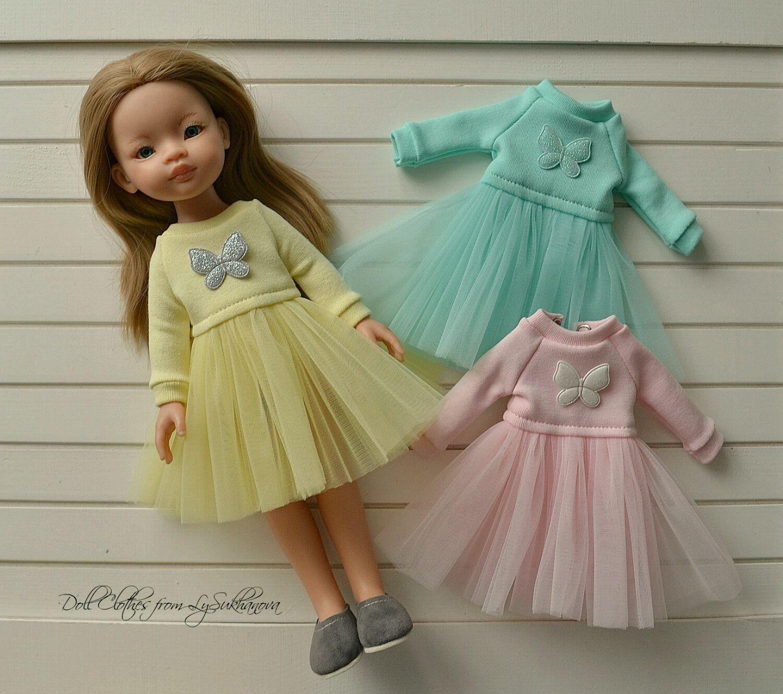 Одежда для кукол ручной работы. Ярмарка Мастеров - ручная работа. Купить Платье для куколки Паола Рейна. Handmade. Одежда для кукол
