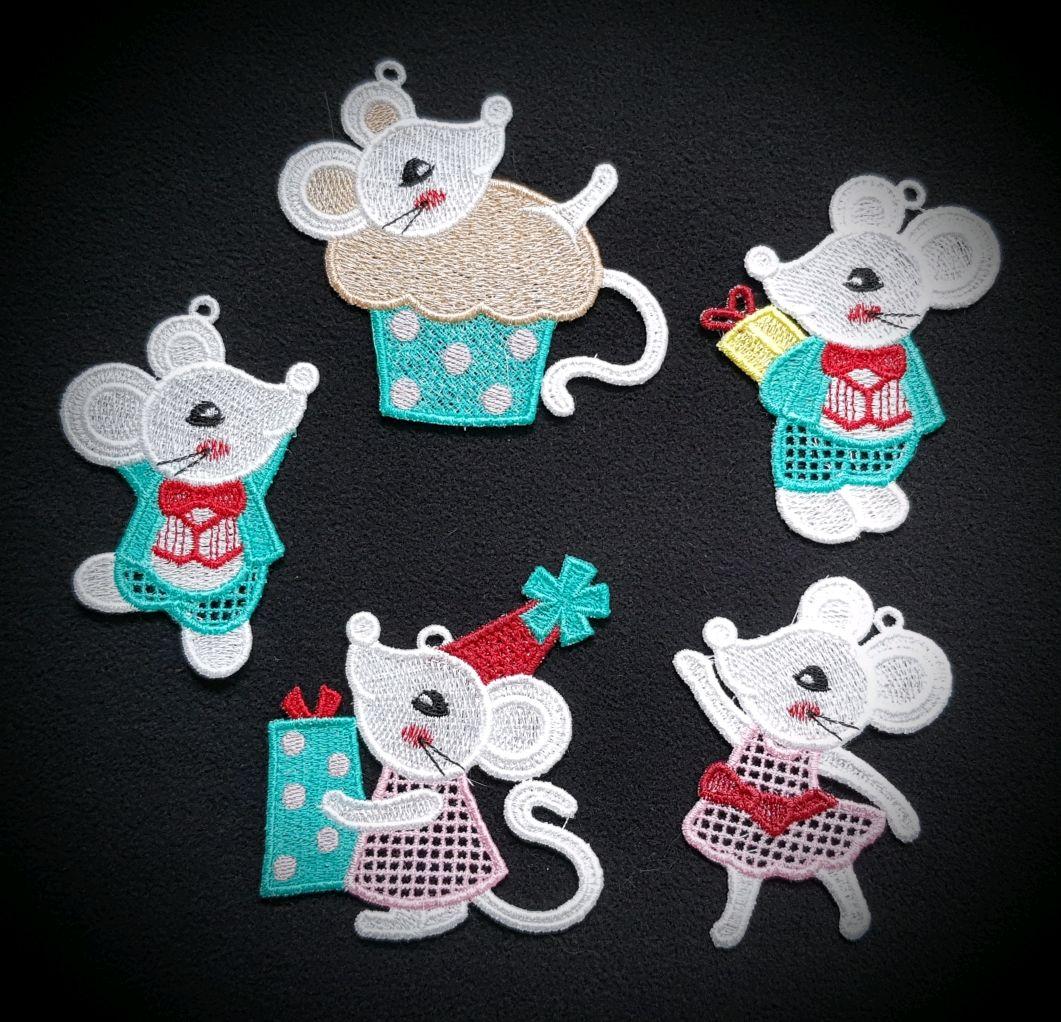 Mice 2020. A set of Christmas ornaments, Christmas gifts, Samara,  Фото №1