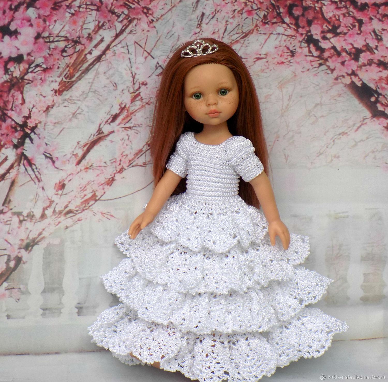 Платье принцессы для кукол Паола Рейна/Paola Reina, одежда для Паолок, Одежда для кукол, Воронеж,  Фото №1