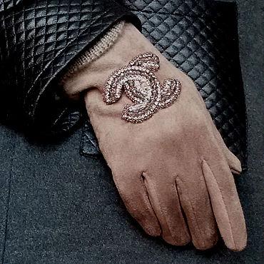 Accessories handmade. Livemaster - original item Gloves: Chanel Gloves. Handmade.