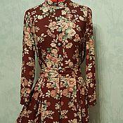 Одежда ручной работы. Ярмарка Мастеров - ручная работа Платье Виктория (стиль Винтаж). Handmade.