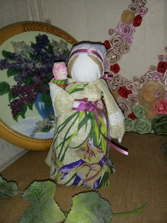 Обереговая Приглашёние малыша в семью и счастливое материнство, Народная кукла, Кропоткин,  Фото №1