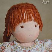 Куклы и игрушки ручной работы. Ярмарка Мастеров - ручная работа Вальдорфская кукла Поленька. Handmade.