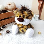 Куклы и игрушки handmade. Livemaster - original item Tiger. knitted toy. Symbol 2022. Handmade.