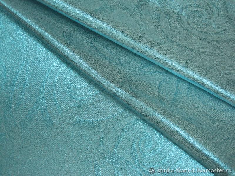 Ткань на платье Эльзы. Плотный хлопок. Италия, Ткани, Москва, Фото №1