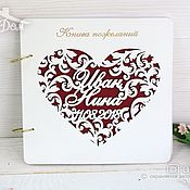 Свадебный салон handmade. Livemaster - original item Guest book
