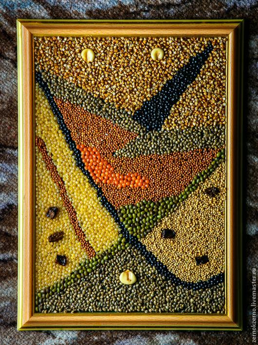 Абстракция ручной работы. Ярмарка Мастеров - ручная работа. Купить Форма 435ти39авг18bi. Handmade. Разноцветный, абстракция, треугольник, линии, форма