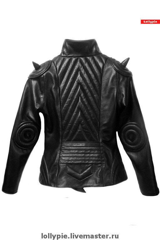 Верхняя одежда ручной работы. Ярмарка Мастеров - ручная работа. Купить Куртка Body Rat - 2. Handmade. Куртка из кожи