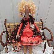 Куклы и игрушки ручной работы. Ярмарка Мастеров - ручная работа Кэнди,девочка со скворечником. Handmade.