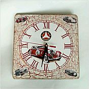 Для дома и интерьера handmade. Livemaster - original item wall clock retro car. Handmade.