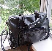 Сумки и аксессуары handmade. Livemaster - original item Bag leather men`s Brutal 3 for Dmitry). Handmade.
