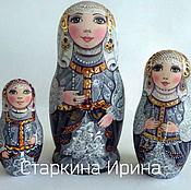 Русский стиль handmade. Livemaster - original item Matryoshka. Handmade.