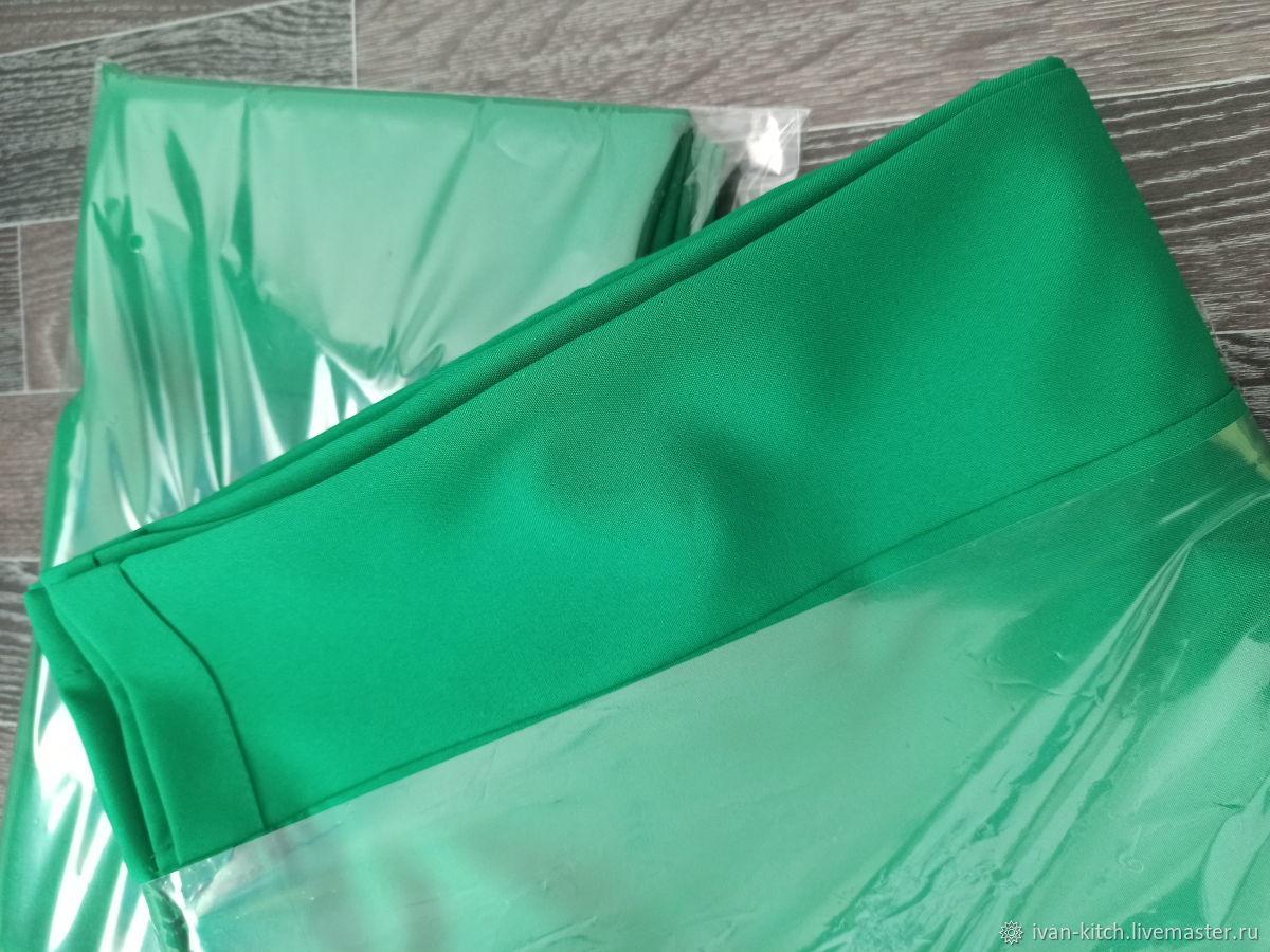 Хромакей тканевый зеленый 1.5х2 и 1.5х3м блог, стрим, детская съемка, Фото, Москва,  Фото №1