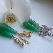 Украшения handmade. Livemaster - original item Drop earrings