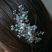 Свадебный салон handmade. Livemaster - original item Bridal comb. Wedding decoration.. Handmade.