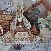 "Куклы и игрушки handmade. Livemaster - original item Кукла в стиле Кантри ""Я люблю свою лошадку"". Handmade."