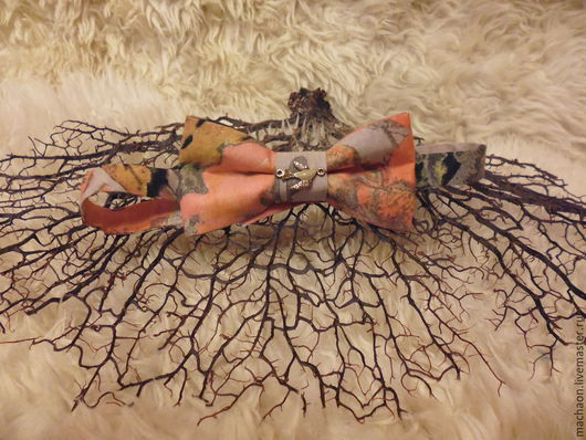 Галстуки, бабочки ручной работы. Ярмарка Мастеров - ручная работа. Купить Галстук-бабочка из хлопка.. Handmade. Бабочка, бабочка-галстук