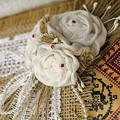 Свадебный салон ручной работы. Ярмарка Мастеров - ручная работа Свадебный набор в русском стиле. Handmade.