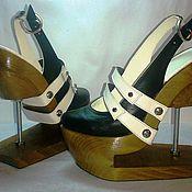"""Обувь ручной работы. Ярмарка Мастеров - ручная работа Туфли женские """"Конструктор"""". Handmade."""